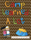 Camp Learned A Lot