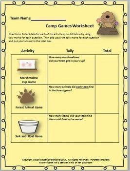 Camp Lesson {Fun Camping Songs & Activities}