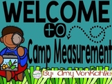 Camp Measurement!  A unit on measurement using inches and centimeters.