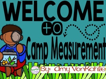 Camp Measurement!  A unit on measurement using inches and