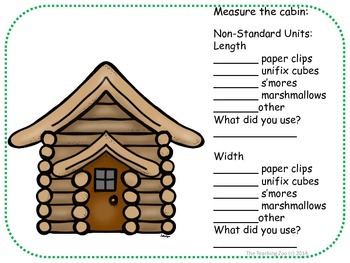 Camp Measurement!  Math Measuring Center