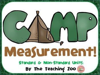 Camp Measurement!  Math Measuring Center