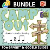 Camp Out - CS Unit 1 CS Decode Familiar - Interactive Game