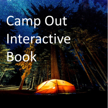Camp Out Interactive Book
