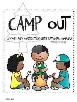 Camp Out Math Budget Activity