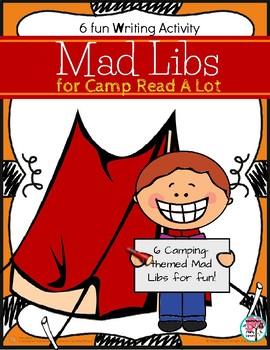 Camp Read A Lot Mad Libs