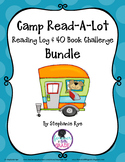 Camp Read-A-Lot Reading Journal & 40 Book Challenge Bundle