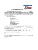 Camp Read A lot parent letter