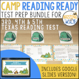 Camp Reading Ready Test Prep Bundle - Printable and Google Slides