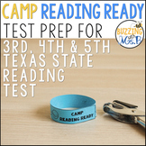 Camp Reading Ready Texas State Reading Test Prep & Review, new 2019 TEKS aligned