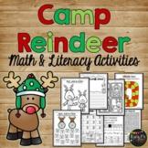 Reindeer Activities Christmas Fun and Games Math, Literacy, & Crafty
