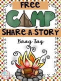 Camp Share-a-Story FREE Brag Tag