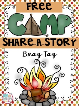 Camp Share-a-Story FREE Brag Tag