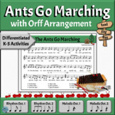 Camp Song with Differentiated Orff Arrangement   The Ants