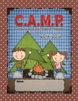 Camp Teacher Binder Covers