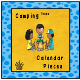 Camp Theme Calendar pieces