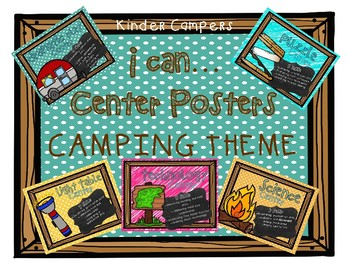 Camp Theme Center Signs