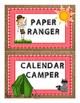 Camp Theme Classroom Jobs