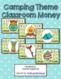 Camp Theme Classroom Money