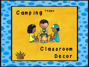 Camp Theme Classroom Set