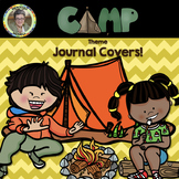 Camp Theme Journal Covers + BONUS Vocabulary Picture Cards