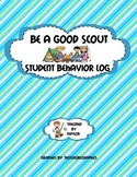 Camp Themed Behavior Sheet