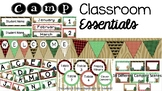 Camp Themed Bundle - Classroom Essentials