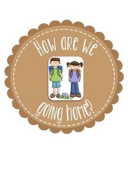 """Camp Themed """"How We Go Home"""" Labels & Sign"""