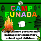 Summer Camp themed script for single class or large group musical performance