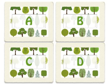 Camp/Tree Themed Classroom Library Labels