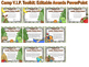 Camp VIP Toolkit: Editable Awards & Powerpoint, Printable Labels, Tags, & More