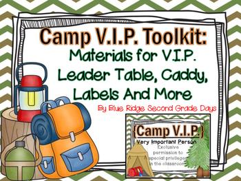 Camp VIP Toolkit: Editable Awards & Powerpoint, Printable