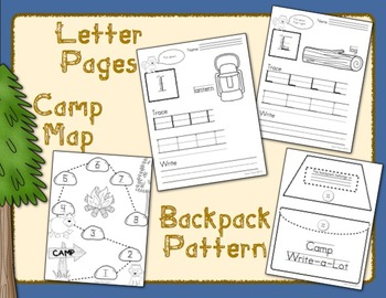 Camp Write-a-Lot: A Themed Handwriting Adventure