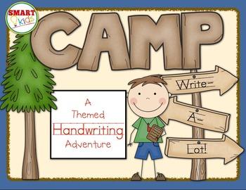 Camp Write-a-Lot: A Themed Handwriting Adventure