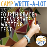 Texas State Writing Test Prep Camp Write a Lot, new 2019 TEKS aligned