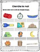 Camp numeracy and literacy activities French/ Activités au