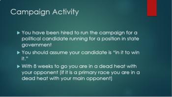 Campaign Activity