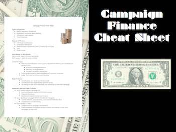 Campaign Finance Cheat Sheet