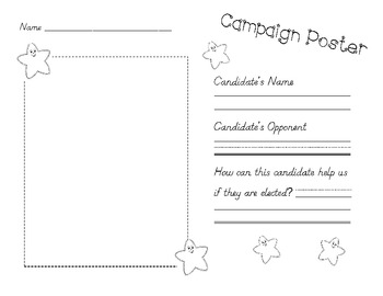 Campaign Poster and Ballot