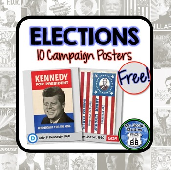 Campaign Posters {10 Posters}