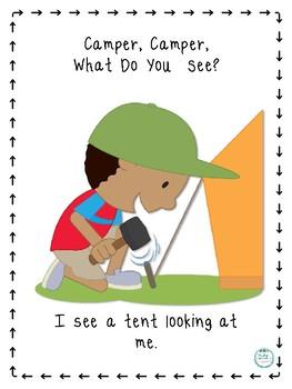Camper, Camper, What Do You See?