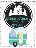 Camper, Camper, What Do You See