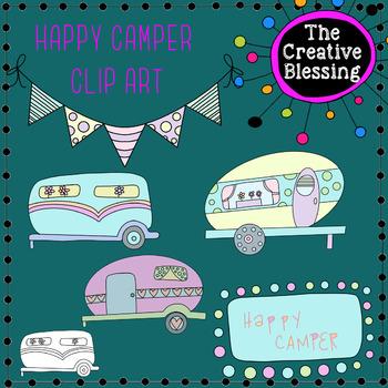 Camper Clip Art
