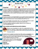 Camper Clip Art Terms Of Use, TOU