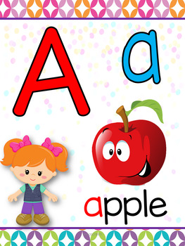Camper Kids Alphabet
