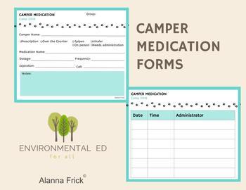 Camper Medication Form