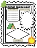 Camper of the Week Posters (Camping Themed Star of the Week)