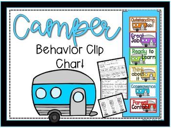 Campers Behavior Clip Chart
