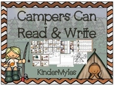 Campers Can...Read and Write