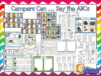 Campers Can....Say the Alphabet
